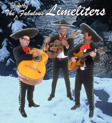 mariachis on a glacier
